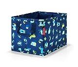 Reisenthel storagebox kids abc friends blue Kulturtasche, 34 cm, 18 Liter, Abc Friends Blue