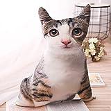 Jake Stuffed & Plush Animals . - 1pcs 50cm Soft 3D Simulation Stuffed cat Toys Double-Side seat Sofa...