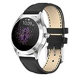LTLJX Smartwatch Damen,1.04 Zoll Touch-Farbdisplay Fitness Armbanduhr mit Pulsuhr Fitness Tracker...