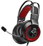 Mpow EG3 Pro Gaming Headset für PS4/PC/Xbox One/Mac/Switch, Virtual 7.1 Surround Sound, 3.5mm USB...