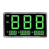 GPS HUD Tachometer, digital, großer Bildschirm, universeller GPS-Geschwindigkeitsmesser, HUD Bike...