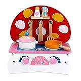Joycaling Küchenspielzeug Holz Pretend Play Kitchen Kinderspielküche Junge Mädchen Pretend...