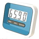 POQAQ Praktische Digitale große LCD-Anzeige Home Kitchen Timer Elektronische Kochen Stoppuhr Timer...