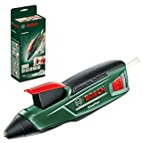 Bosch Akku Heißklebepistole GluePen (Micro-USB-Ladegerät, 4x Klebestick Ultrapower, 3,6 Volt, im...