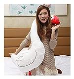 Yuhualiyi123 Kreativer Plüsch Schwan Kissen schöne weiße Schwan Spielzeug Hochzeitsgeschenk...