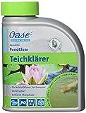 Oase 43140 AquaActiv PondClear Teichklärer 500 ml - sofort wirkende Teichpflege bindet Schwebealgen...