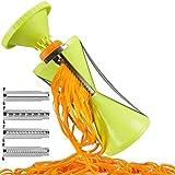 Miwaimao Gemüsespirale Shredder Gemüseschredder Gemüsehubschrauber Shredder Gurke Zucchini...