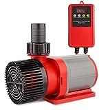 FREESEA Wasserpumpe Filter-/Teichpumpe DC-Frequenz 24V, 15000 L/H Hi-Flow 100W, Ansaughöhe 6m