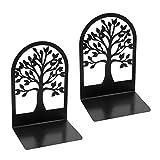 Xinchangda Buchstützen, rutschfeste Baumförmige Bürobücherregale Aus Metall, Desktop-Organizer...
