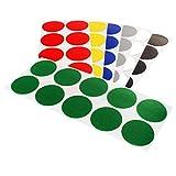 Klebepunkte farbig   PE-beschichtete Markierungspunkte   Farbe, Menge & Durchmesser wählbar   Bunte...