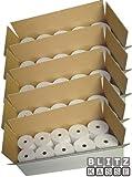Thermopapier 80/80m/12, 50 Stck, 80mm, 80m lang, Bonrollen fr Thermodrucker