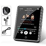 32G MP3 Player JBHOO 2.8' MP3 Bluetooth 5.0, MP3 mit Lautsprecher, FM Radio, Schrittzähler,...