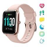 【Neueste】 GRDE Smartwatch Bluetooth V5.0 Fitness Armbanduhr Touchscreen Fitness Tracker 5 ATM...