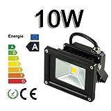 10W/20W/30W/50W/70W/100W/200W warmweiß mit schwarz Aluminium Gehäuse IP65 wasserdicht LED Lampe...