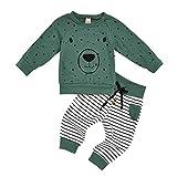 Teen Kinder Trainingsanzug Babykleidung für Baby Jungen Mädchen Bekleidungsset Neugeborene Kind 2...