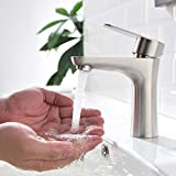 ubeegol Wasserhahn Bad Armatur Waschbecken Mischbatterie Waschtischarmatur Badarmatur Einhandmischer...