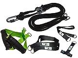 BodyCROSS Premium Schlingentrainer für zuhause mit Türanker, Poster & Trainingsplan |...