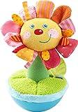 HABA 304280 - Stehauffigur Blume, Stoffspielzeug mit fröhlichem Blumengesicht für Babys ab 6...