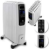 KESSER 2000W Ölradiator mit digitalem Display Fernbedienung - elektrischer, energiesparender...
