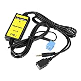 Gorgeri Aux In Adapter, Auto Auto USB Aux In Adapter MP3 Player Radio Audio Schnittstelle