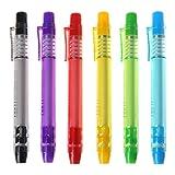 Fewxdsad Creative Pr Radiergummi in Stiftform, zum Schreiben und Radieren von DrawinC-Löschen.