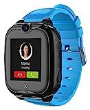 XPLORA XGO 2 - Telefon Uhr für Kinder (SIM-frei) - 4G, Anrufe, Nachrichten, Schulmodus,...