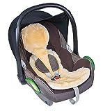 Fellhof 10407 Einlage Unifit aus Lammfell, für Autositze und Babyschalen, OEKO-TEX® Standard 100...