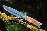 VIKING GEAR® klassisches Messer - Einhandmesser 23cm - Gürtelmesser - Jagdmesser - Arbeitsmesser -...