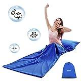 MAGT Schlafsack Liner, Cotton Travel und Camping Sheet, Leichter Schlafsack für Camping Backpacking