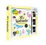 50 x Watercolor – Flamingo, Kaktus & Co. – Starter-Set – Sonderausgabe: Die beliebtesten...