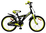 amiGO BMX Turbo - Kinderfahrrad - 18 Zoll - Jungen - mit Rücktritt - ab 5 Jahre - Schwarz
