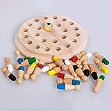 Peony Kinder Party Spiel Holz Memory Match Stick Schachspiel Spa Block Brettspiel Pdagogische Farbe...