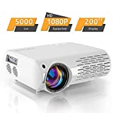 Beamer,5000 Lux Video Projektor (550 ANSI) Crenova XPE660 untersttzt Full HD 1080P Heimkino Beamer ,...