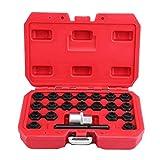 Radverriegelungsschlüssel, 22-teiliges Anti-Diebstahl-Schrauben-Hülse, Legierung, Stahl,...
