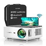 YABER WiFi Bluetooth 5G Beamer 8500 Lumen Full HD 1080P Heimkino Beamer, mit 4-Punkt...