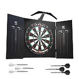 Target Darts Arc Dartboard-Beleuchtungssystem im Heimkabinett-Set Inklusive Weltmeister-Dartboard...