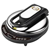 SHAAO Elektro-Backen-Wannen-Skillet Griddle, Antihaft-Beschichtung, leicht zu reinigen, mit...