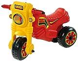 Dohany Rutscher Motorrad Fahrzeug Cross 1 Kinder Laufrad Lauflernrad Rot/Gelb