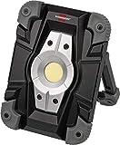 Brennenstuhl Akku LED Arbeitsstrahler ML CA 110 M / LED Baustrahler für außen 10W (Robuste LED...