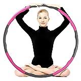 Etercycle Fitnesskreis Reifen, Hoops Hula zur Gewichtsreduktion und Massage Verwendet Werden...