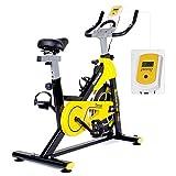 WADSYS Heimtrainer Fahrrad FüR Zuhause, Fahrradtrainer, 8Kg Schwungmasse, Pulsgurt Kompatibel -...