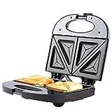 Sandwichmaker Sandwichtoaster mit Backampel Antihaftbeschichtet 750W ADLER