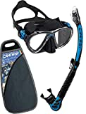 Cressi Big Eyes Evo Alpha Ultra Dry Schnorchelset Schnorcheln Set mit Schnorchel und Taucherbrille...