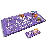 Mega Milka Schokoladentafel personalisiert mit einem Namen und Botschaft - Personalisiertes XL Mega...