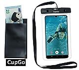CUPGO Unterwasser Handyhülle-Handyschutz Staubdichte Handytasche Wasserfester Beachbag Wasserdicht...