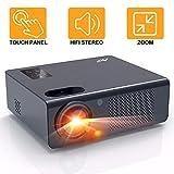 Beamer - Artlii Energon Heimkino Beamer HD mit Zoomfunktion Projektor 1080p Unterstützung...