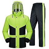 majing Regenbekleidung- Regenanzug Für Männer Regenbekleidung (Regenjacke Und Regenhose)...