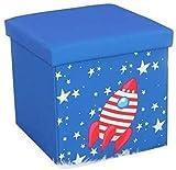 Aufbewahrungsbox für Stühle, zusammenklappbar, Spielzeugtruhe, Multifunktions-Aufbewahrungsbox, 30...