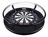 Target Darts Corona Vision Dartboard-Beleuchtungssystem Dartboardschränke & Kabinette, Schwarz, mit...