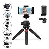 Polarduck Mini Stativ, Handy Stativ, Kamera Stativ, Stativ fr iPhone/DLSR/Beamer/Webcam mit GoPro...